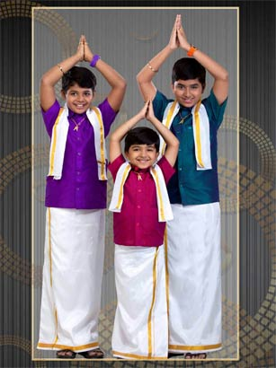 readymade Dhoti sets