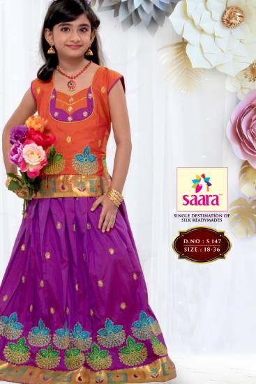 latest pattu pavadai blouse designs
