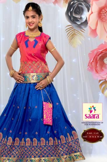 latest pattu pavadai designs for adults